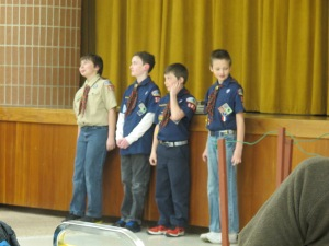 The Webelos II -- Waiting for the crossover.