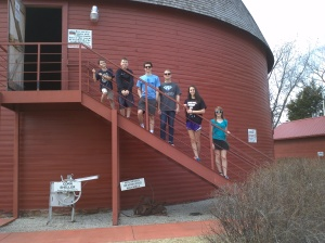 Our children have been friends their entire lives! Owen, Wesley, Harrison, Taylor, Audrey & Jocelyn at the Round Barn in Arcadia, OK.