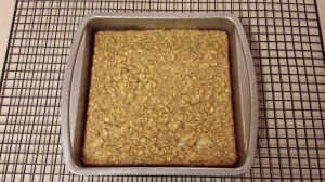The finished product - Baked Banana Bread Oatmeal